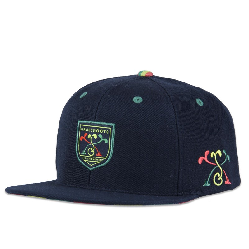 A snapback hat from Grassroots California