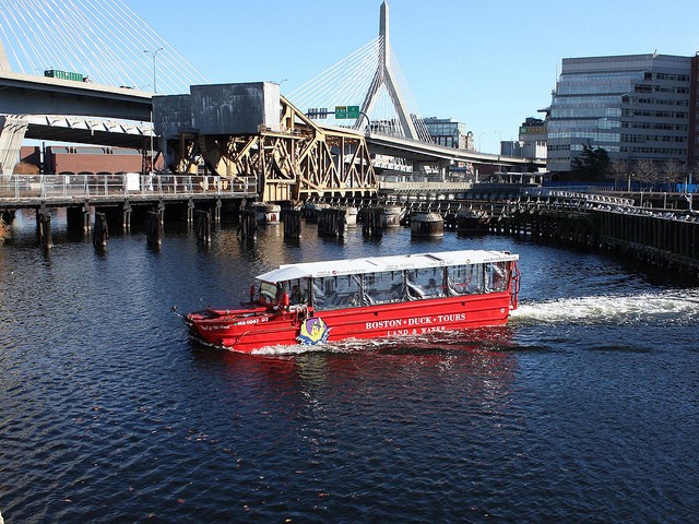 The Duck Boat Tour is one of the greatest things to do in Boston