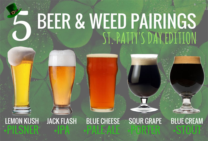 5 beer and cannabis pairings