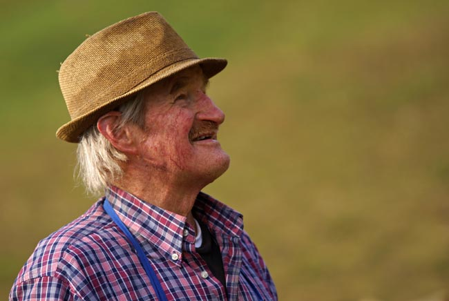 Many elderly people experience increased happiness with cannabis.