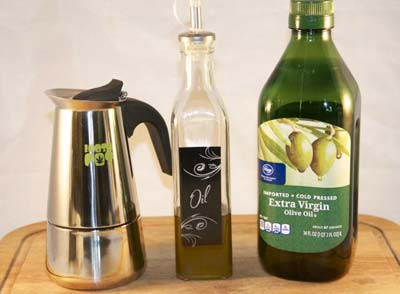 Make Infused Olive Oil with the Mota Pot