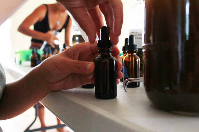 Tinctures are a popular sublingual-absorbed product