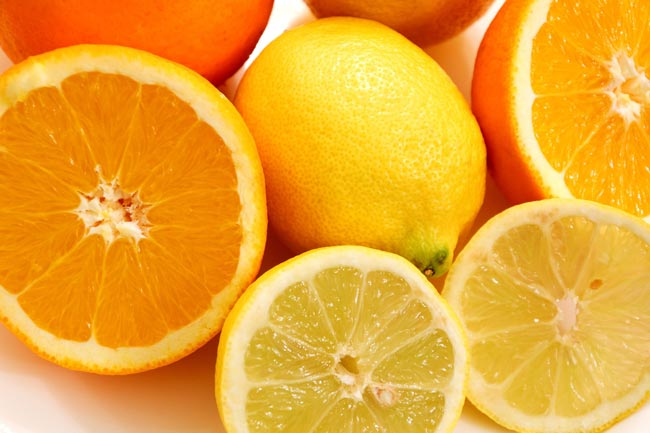 Lemons and oranges contain some of the same terpenes found in cannabis.