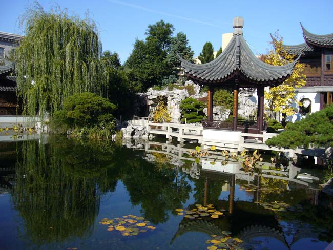 The landscaping and architecture at the Lan Su Chinese Garden is sure to impress.