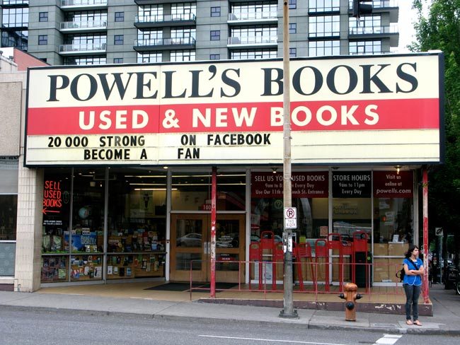 If you like to toke and enjoy a good book, then Powell's is for you!