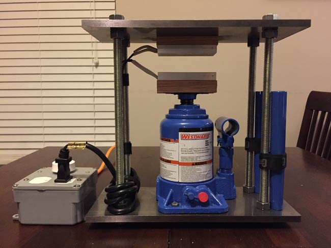 DIY Hydraulic presses may be subject to leakage if the parts are not quality