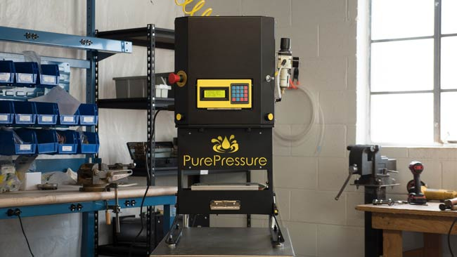 Every PurePressure rosin press is assembled in America by their dedicated team