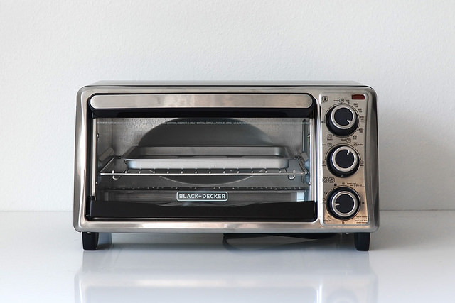 A toaster oven is a great tool for decarboxylation, as it has better temperature control than a conventional oven.