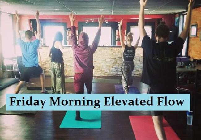 Secret Stash Yoga: Friday Morning Elevated Flow