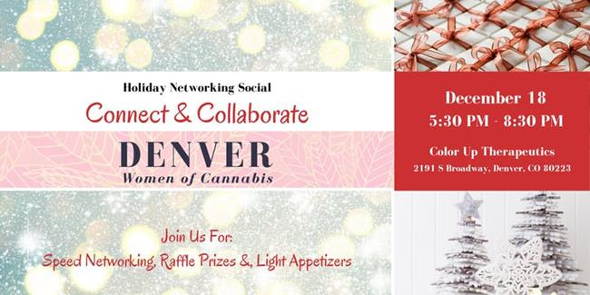 Denver Women of Cannabis - December Networking Event & Holiday Party