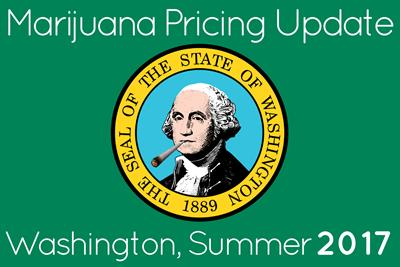 Marijuana Prices in Seattle and Washington: Summer 2017 Update