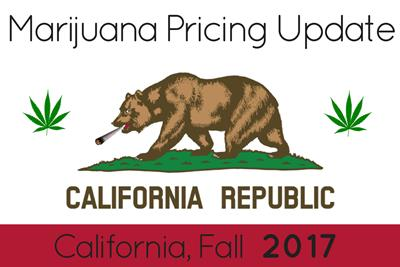 Marijuana Prices in Los Angeles and California: Fall 2017 Update