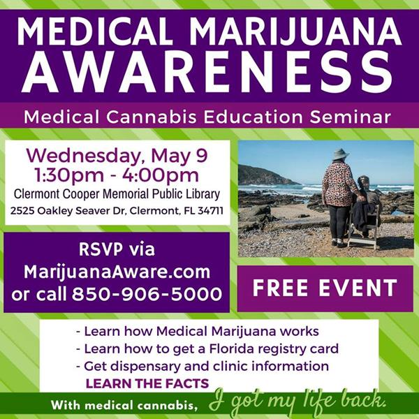 Medical Marijuana Awareness Seminar - Clermont
