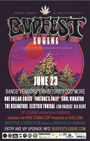 BudFest Eugene 2018: Summer Kick-Off