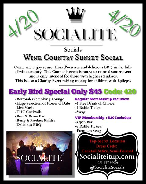 Wine Country Sunset Social