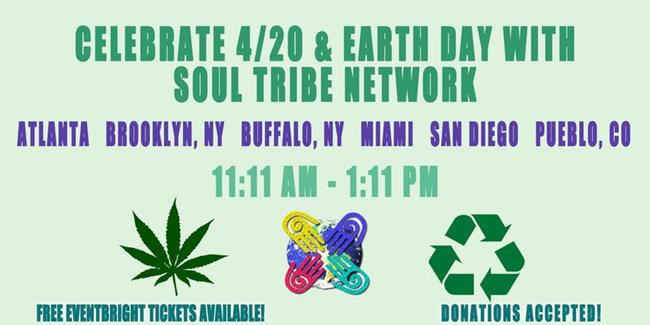 6 City Soul Tribe Network 420/Earth Day Synchronicity Walk and Clean Up
