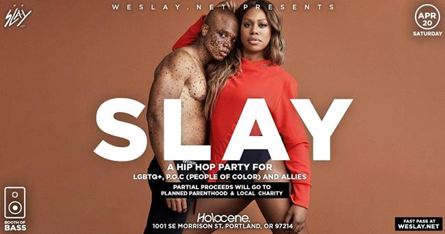 SLAY: Hip Hop Dance Party for LGBTQ, POC and Allies