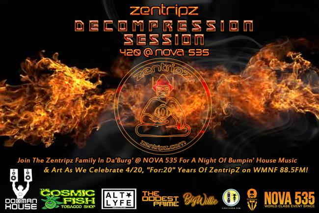 Zentrips Decompression Session 420