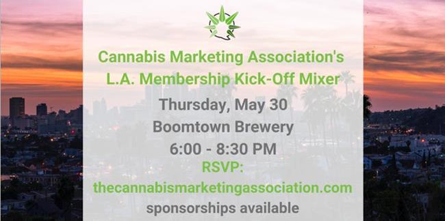Cannabis Marketing Association's Los Angeles Membership Kick-Off