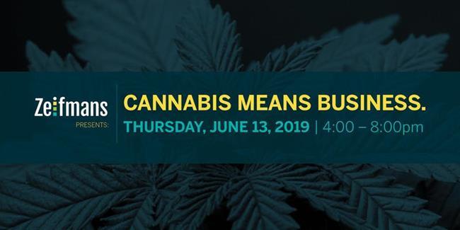 Zeifmans Presents: Cannabis Means Business | Toronto