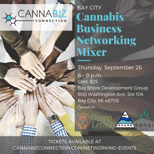Bay City Cannabiz Connection Networking Mixer - 9/26