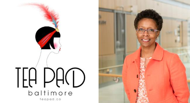 Tea Pad with UMSOP Dean Natalie D. Eddington