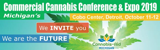 Michigan's Commercial Cannabis Conference & Expo 2019: Cannabis-Aid