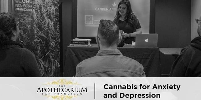 Cannabis for Anxiety and Depression - Free Class at the Apothecarium