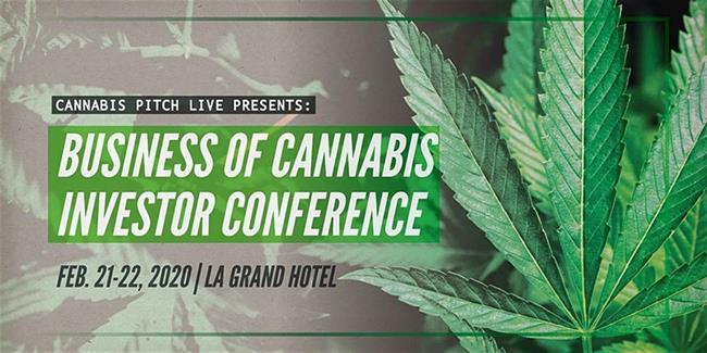 Cannabis Pitch Live Professional Athletes and Investors Conference