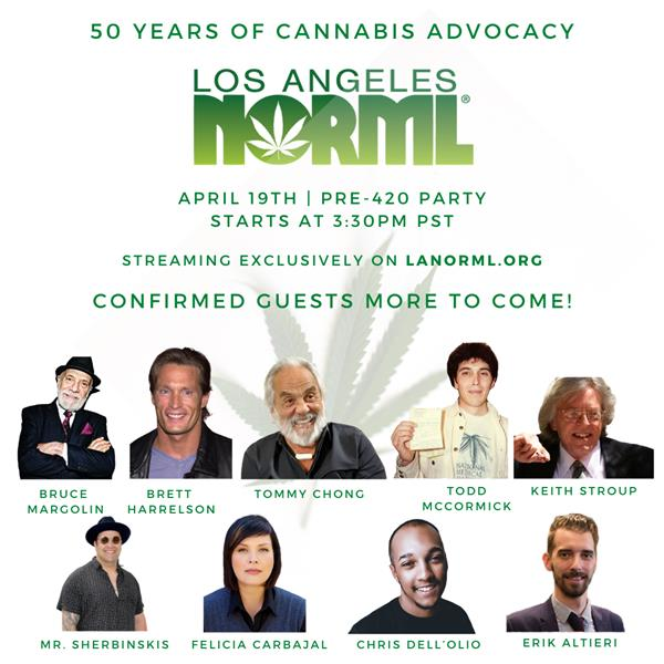 A NORML PARTY 50 YEARS IN THE MAKING