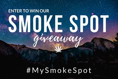 Last Chance to Enter to Win Our Smoke Spot Giveaway
